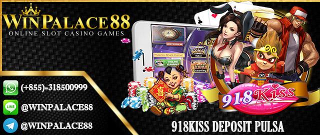 918Kiss Deposit Pulsa